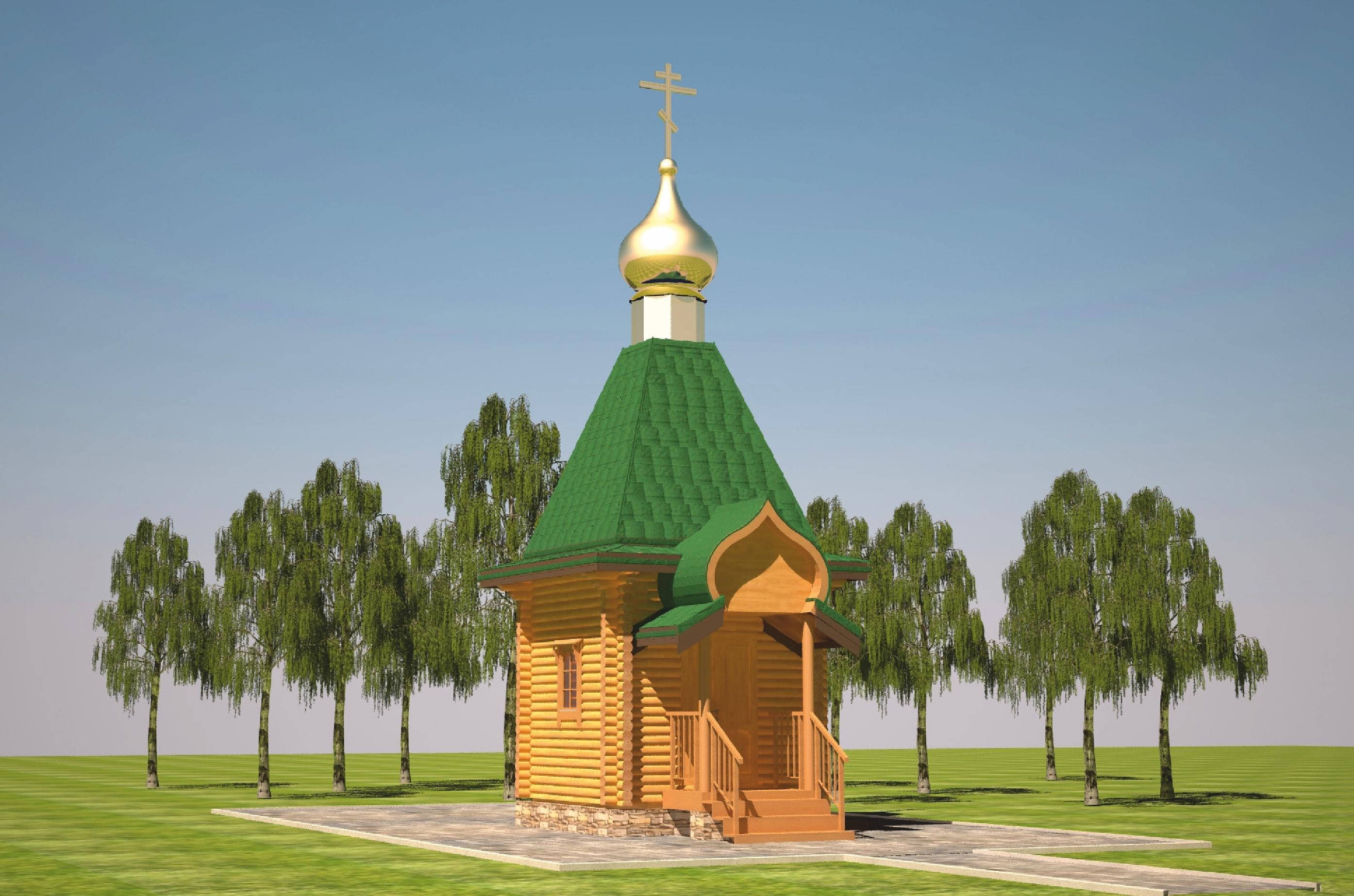 Заложен камень под строительство храма-часовни в с.Малахово