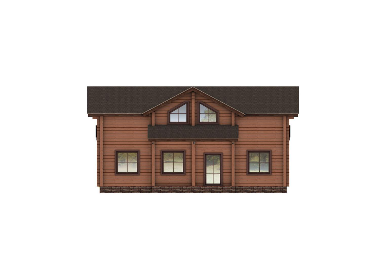 Дом «Тайга» (брус)