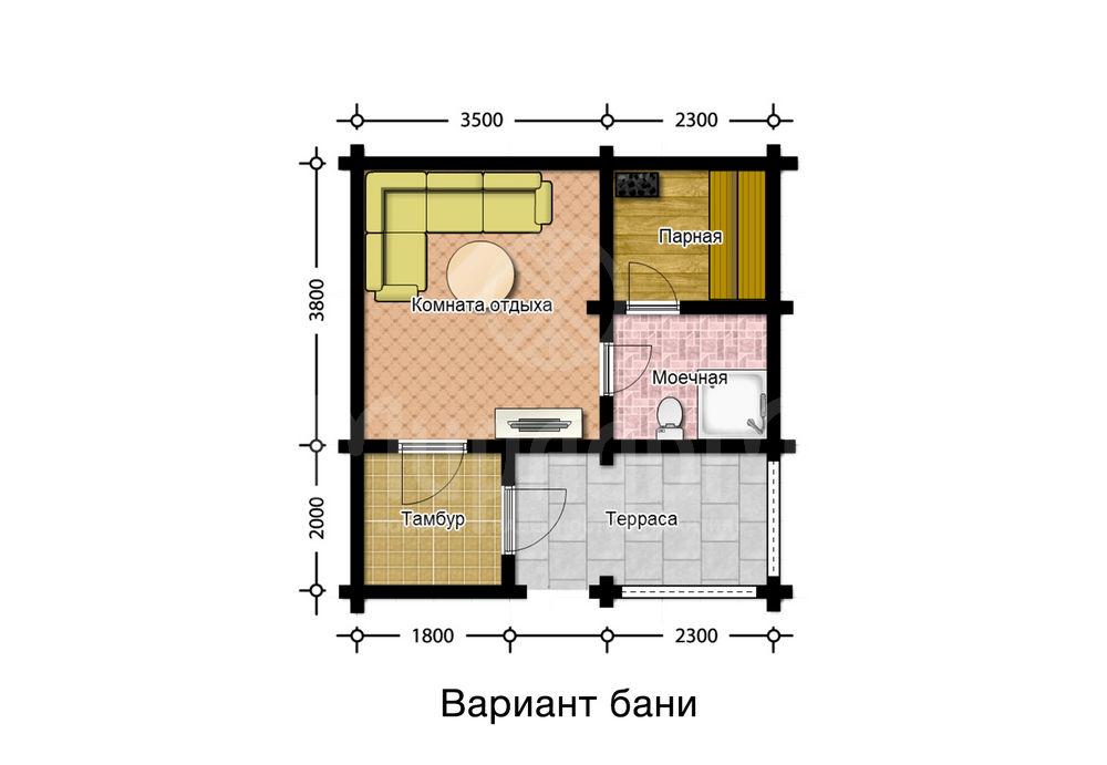 Дом-баня «Арго»