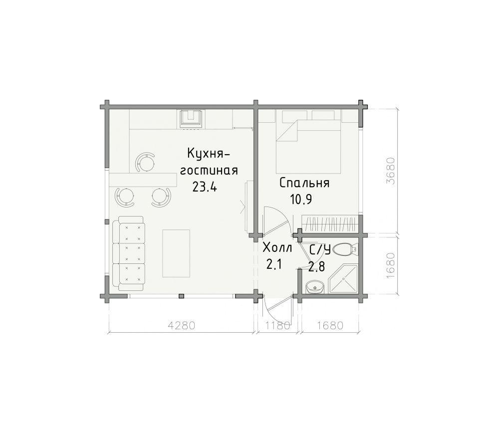 Дом «Хаски»
