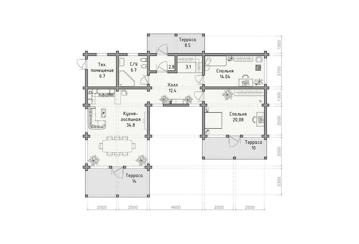 Дом «Лань»