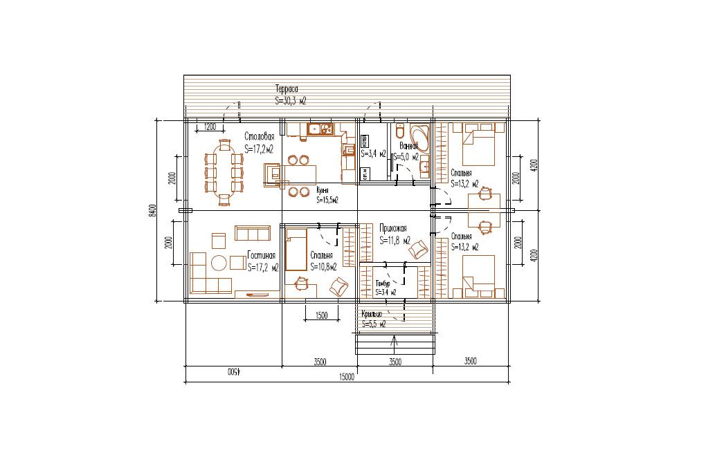 Дом «Лаванда»