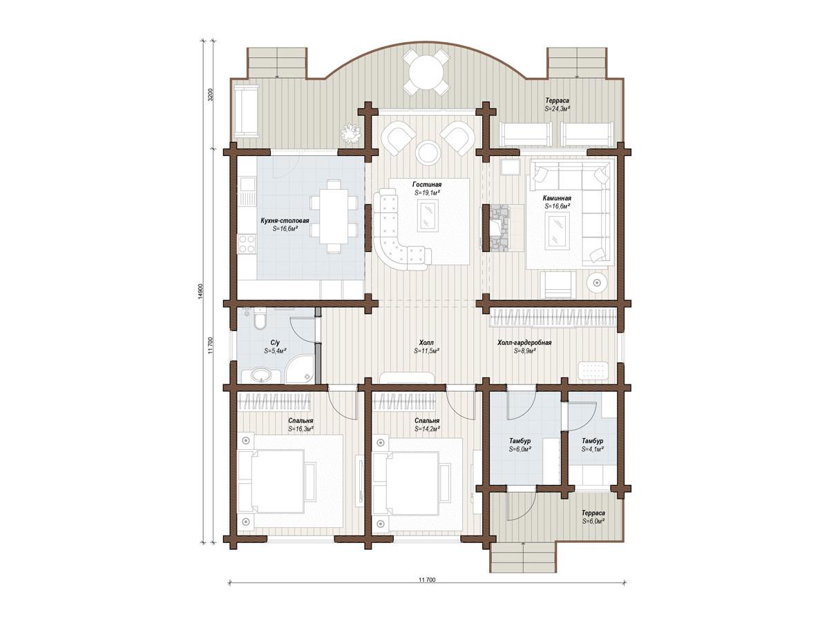 Дом «Сюит»