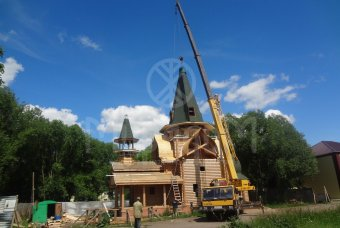 Церковь Преподобного Алексия в п. Пушкино Омск