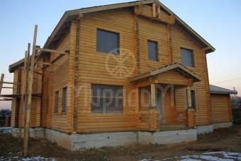 Деревянный дом в Лыткино