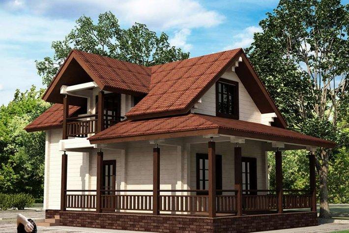 Дом «Лисица-мини»
