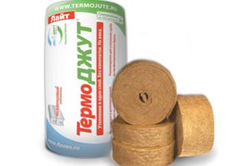 ТермоДЖУТ сделан из джутового волокна, в котором лигнина в три раза больше, поэтому его срок службы может превышать 100 лет!